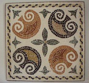 Mosaico de peltas
