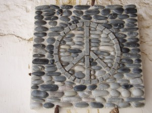 Mosaico Simbolo de Paz