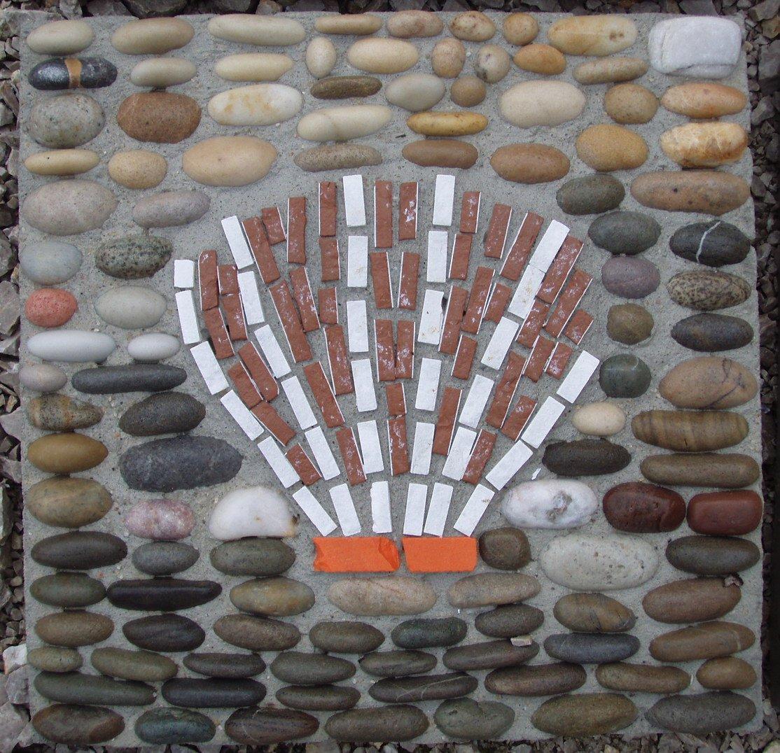 Materiales para hacer una baldosa mosaico artesania la for Materiales para hacer un piso
