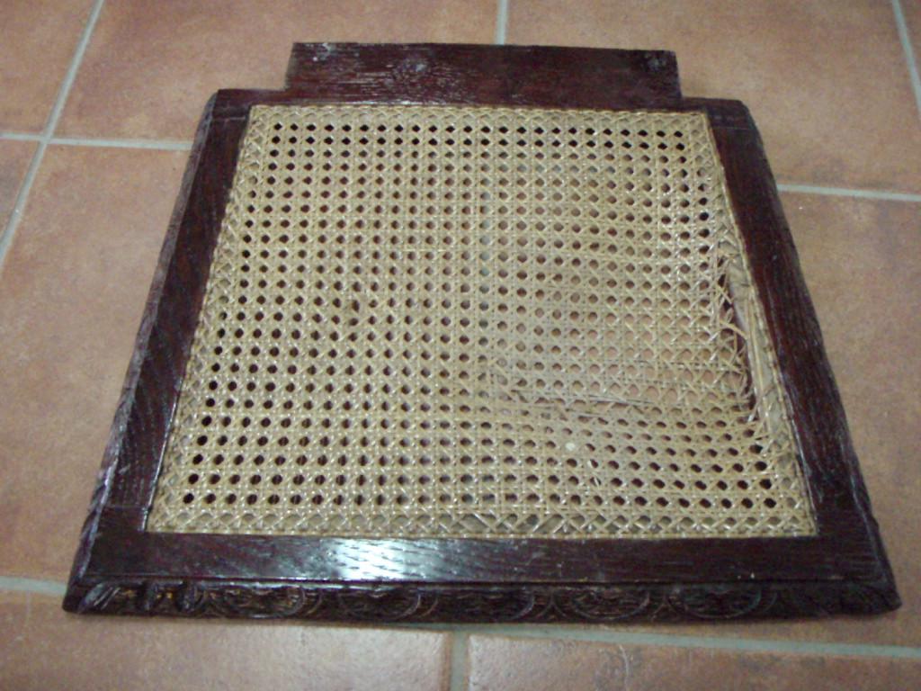 Como tejer la rejilla artesania la pasera - Tejidos para tapizar sillas ...