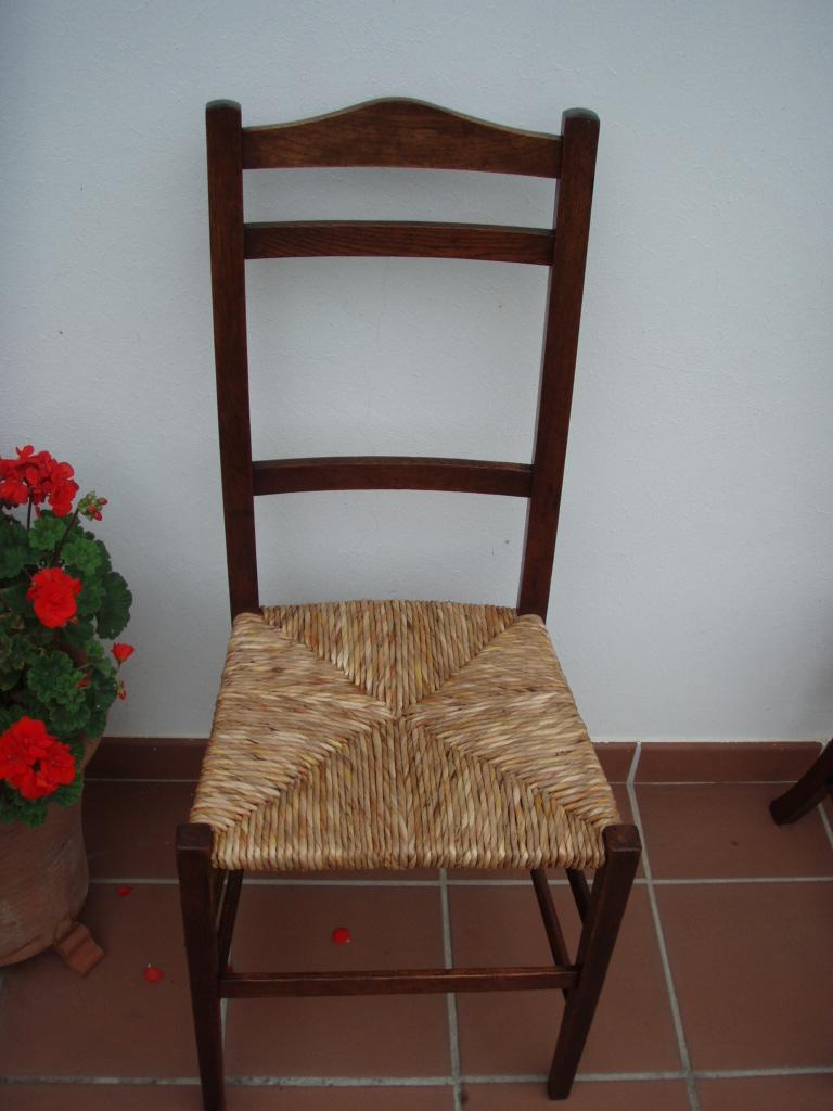 Como limpiar la enea de un asiento 1 artesania la pasera - Limpiar cocina de madera ...
