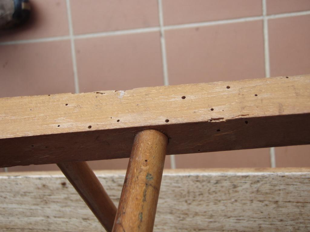 Restauracion de sillas con asiento de rejilla 2 la - Acabar con la carcoma ...