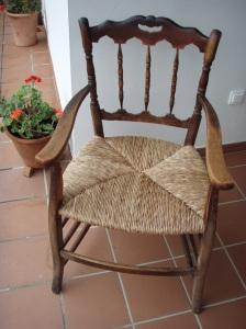 Restauraci n de una silla con asiento de enea 3 - Restauracion de sillas ...