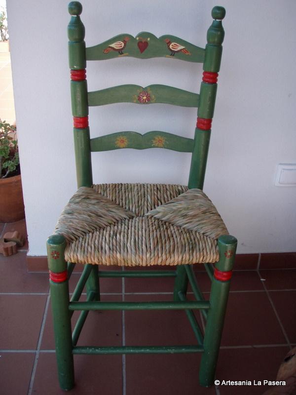 Restauracion de sillas asiento de enea 4 artesania la - Restaurar sillas antiguas ...