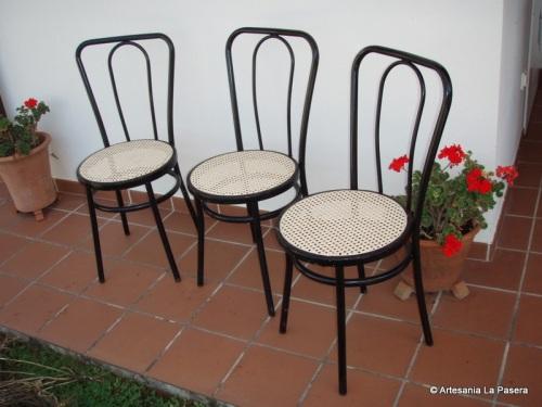 Restauracion de sillas con asiento de rejilla 6 rejilla - Reparacion de sillas de rejilla ...