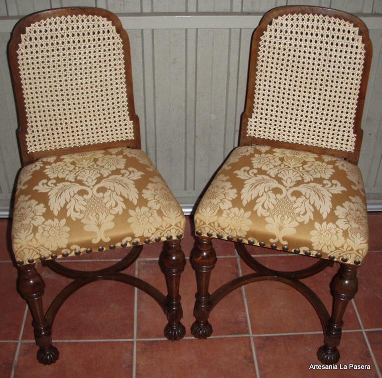 Restauraci n de sillas con asiento de rejilla 7 - Restauracion de sillas ...