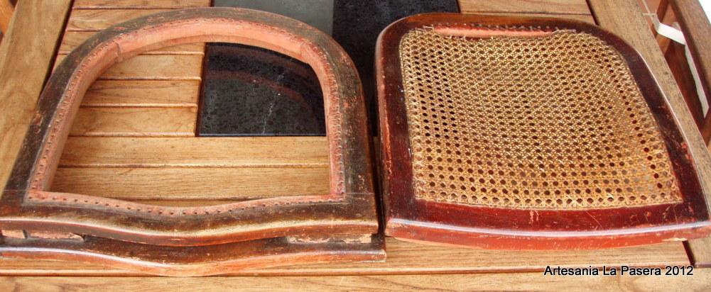 Restauracion de sillas con asiento de rejilla 8 silla de - Como arreglar el asiento de una silla ...