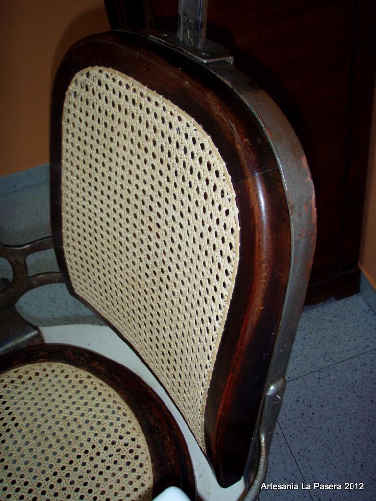 Restauracion de sillas con asiento de rejilla 8 silla de - Reparacion de sillas de rejilla ...