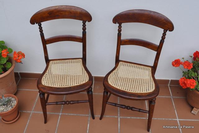 Restauracion de sillas con rejilla el esterillado frances - Restauracion de sillas ...